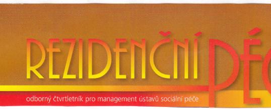 Rezidenční péče, odborný čtvrtletník, 2. červen 2014