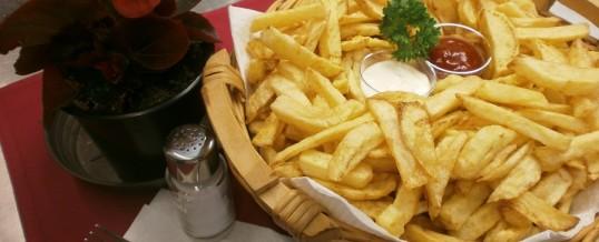 Ochutnávka bramborových hranolek