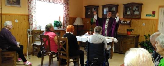 Tichá vzpomínka a zádušní mše v Domově sociálních služeb Meziboří