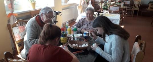 Velikonoční setkání se žáky Základní školy s rozšířenou výukou jazyků vLitvínově.