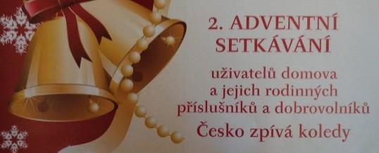 2. adventní setkávání – Česko zpívá koledy