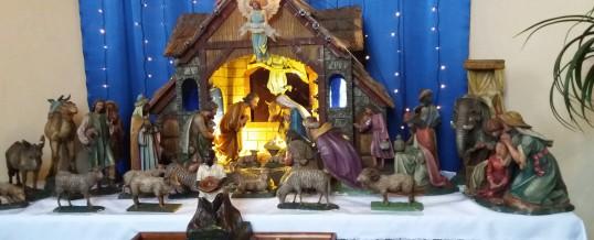 Návštěva betlému v kostele svatého Michaela archanděla v Litvínově