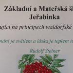 Logo Základní a Mateřské školy Jeřabinka