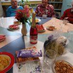 narozeninová oslava klientky Libušky - pohoštění