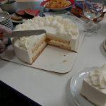 narozeninová oslava klientky Libušky - krájení dortu