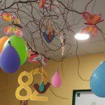 narozeninová oslava klientky Libušky - výzdoba, balónky