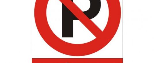 Zákaz parkování